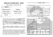 Fichier PDF inscription repas