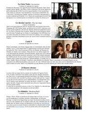 liste de series