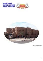 monographie skoura ouarzazate