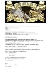 Fichier PDF registration form