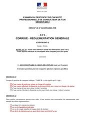 uv1 reglementation generale corrige 1