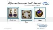 bijoux artisanaux en email cloisonne