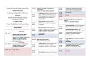 study day programme 1