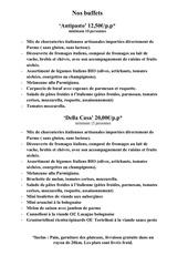 Fichier PDF buffet francais