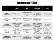 programme fecr