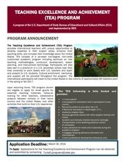 tea program announcement fy16 writable pdf final
