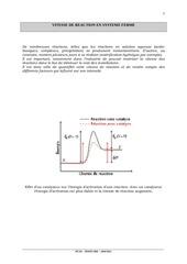 cinetique chimique cours