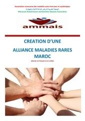 creation d une alliance maladies rares maroc 2016 1