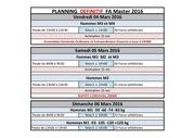 planning fa masters