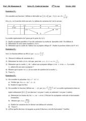 serie etude de fonction 3eme sc exp