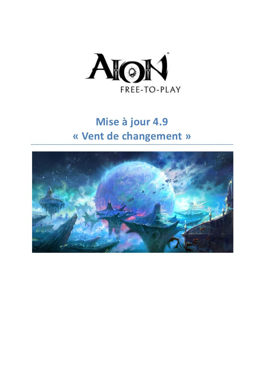 AION_4_9v_Patch Notes_FR_24022016.pdf - page 1/41