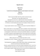 Fichier PDF baguette maison