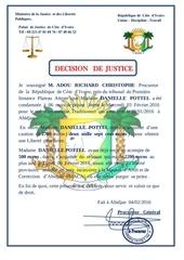 decision de justice