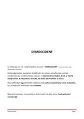 democcident