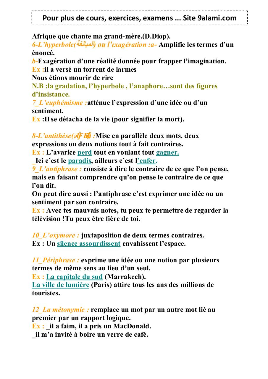 Les-figures-de-style (1) par 9alami.com - Fichier PDF