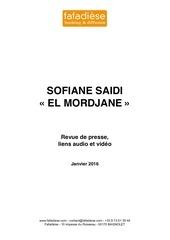 revue de presse sofiane saidi 28 01 2016