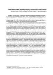 bibliotheques universitaires et documents audiovisuels 1
