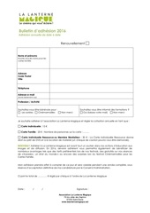Fichier PDF bulletin d adhesion 2016
