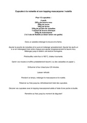 Fichier PDF cupcake a la noisette et son topping mascarpone nutella