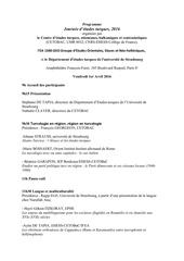 programme jet 2016