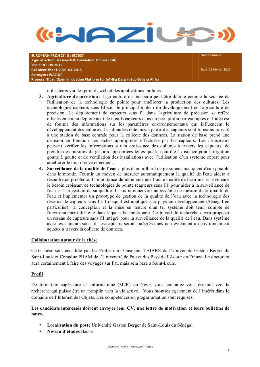 WAZIUP Projet de these - Fichier PDF