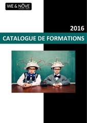 catalogue de formations 2016 we n ve