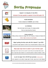 week end sologne