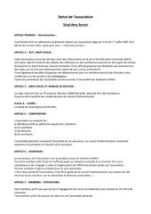 Fichier PDF statuts stud amu forum