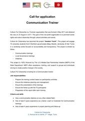 callforapplicationcommunicationtrainer