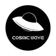 cosmic wave logo noir facebook