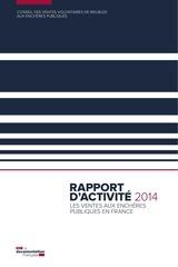 rapport conseil des ventes 2014