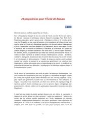 20propositionspourlecole