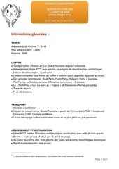 Fichier PDF dossier inscription espagne 2016