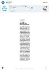 Fichier PDF het laatste nieuws