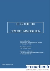guide credit immobilier