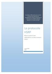 Fichier PDF le protocole hsrp