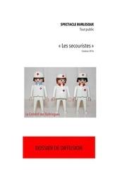Fichier PDF dossier de diffusion les secouristes