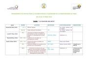 programme quinzaine francophonie 2016