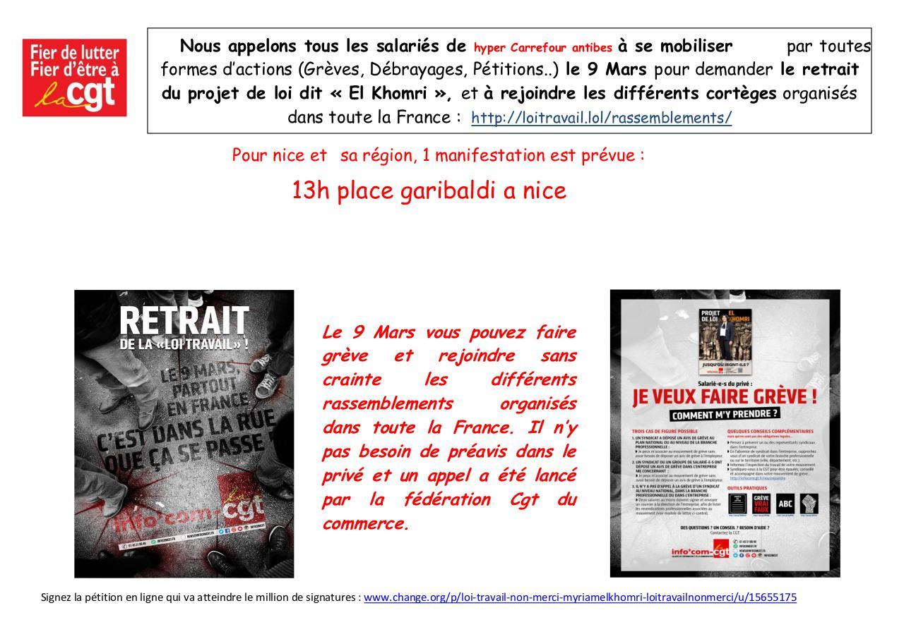 Tract Pdf Antibes 9 Mars Par Laurent L Fichier Pdf