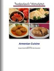 Fichier PDF armenian cuisine