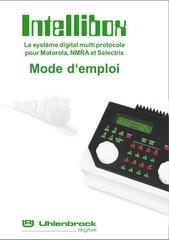 Fichier PDF manuel intellibox complet fr