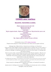 recette cookiesmolleux