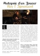 Fichier PDF gazette
