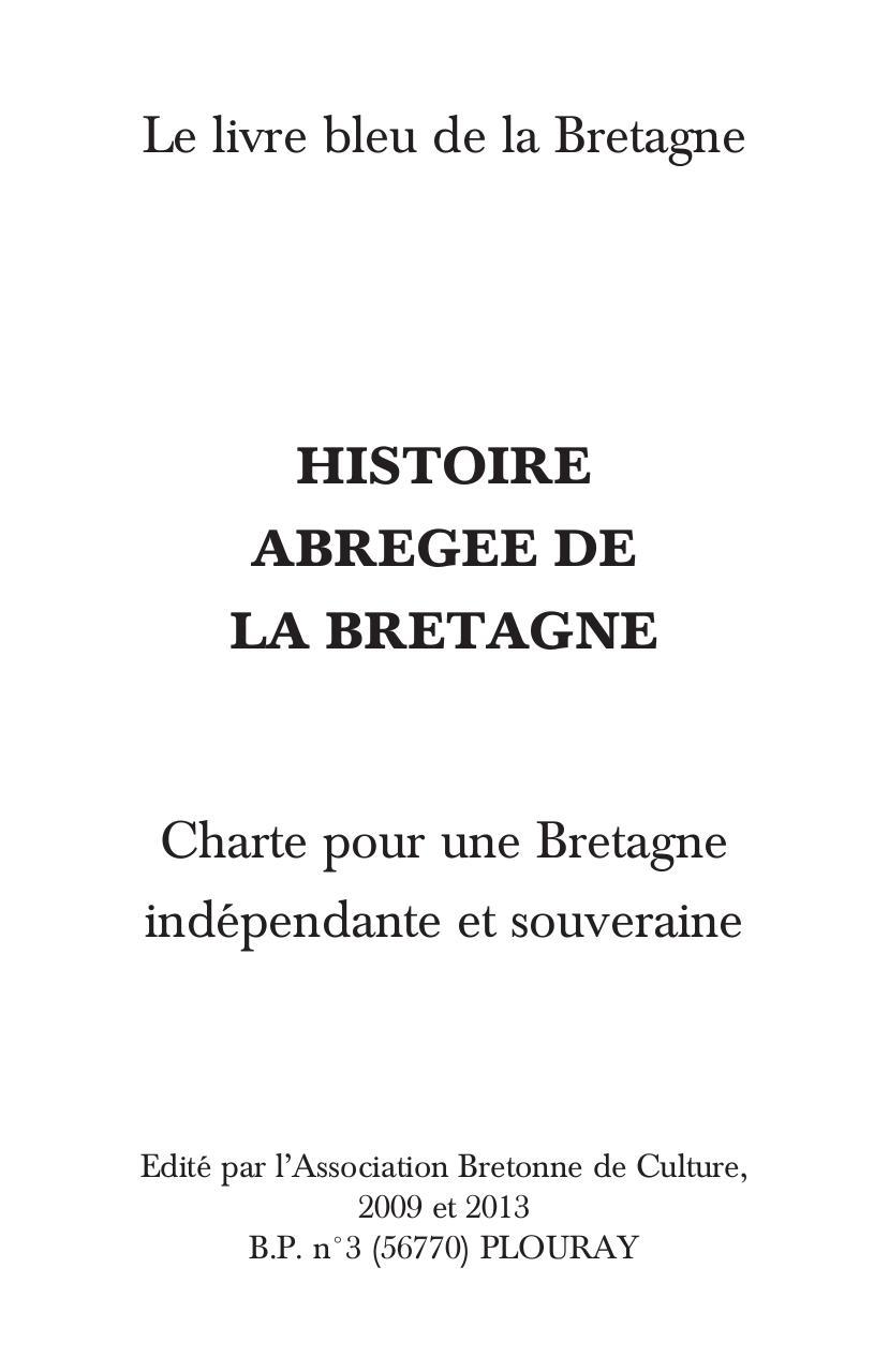 Livre Bleu Bretagne Fichier Pdf