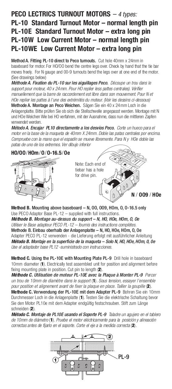 PL-10 Series Instructions.pdf - page 1/2