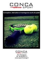 pre sentation conca sport