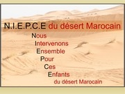 diaporama mission region merzouga 2015