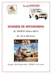 Fichier PDF dossier sponsor trophy
