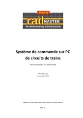 hornby railmaster instruction 2011manual french