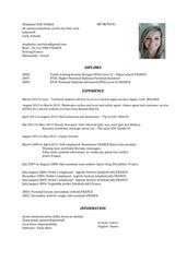 Fichier PDF cv 3